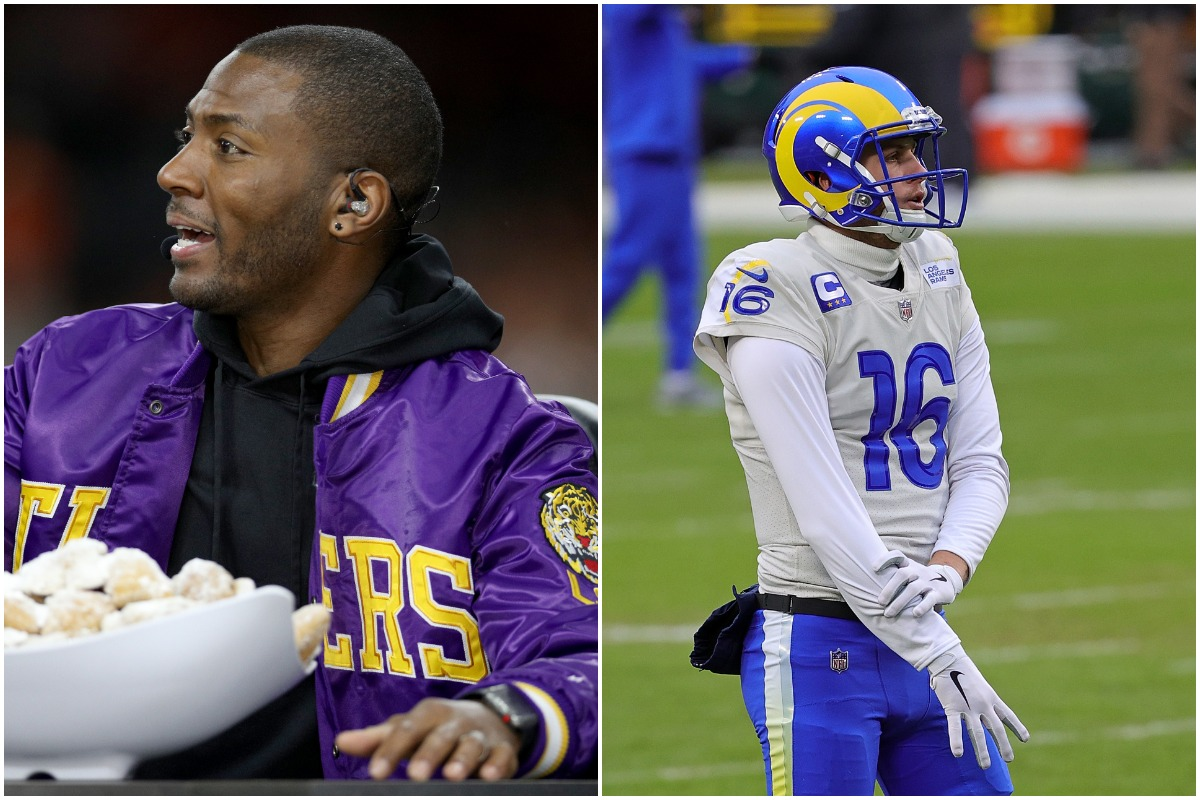 Jared Goff, Ryan Clark, Rams
