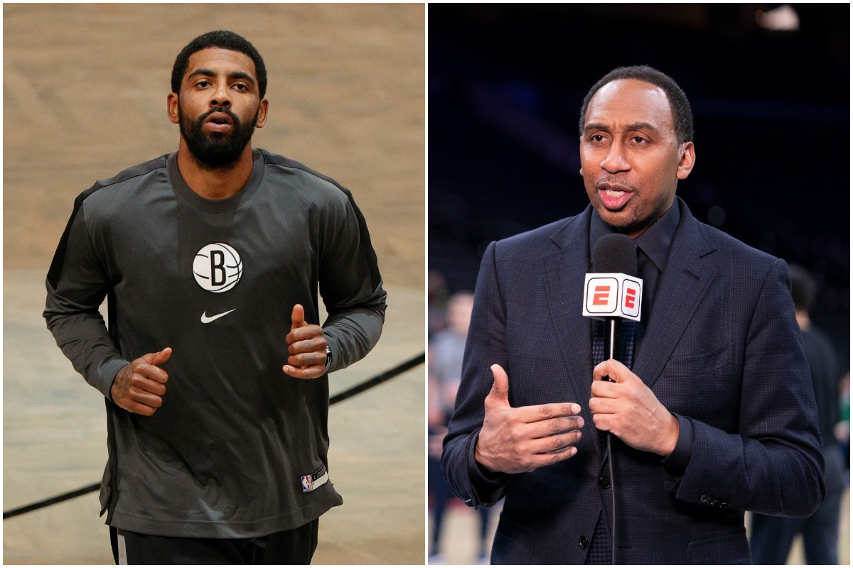 Stephen A. Smith, Kyrie Irving, Nets