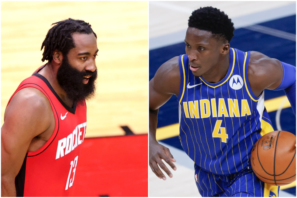 James Harden, Victor Oladipo, Rockets, Pacers, Nets