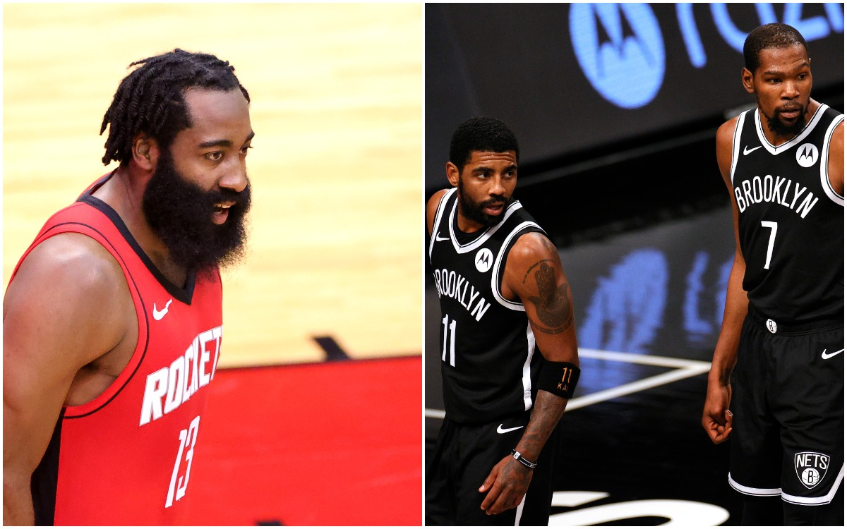 Kevin Durant, James Harden, Nets, Kyrie Irving