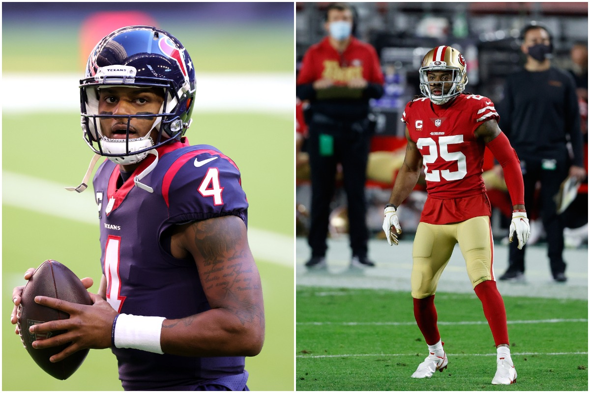 Richard Sherman Just Picked Deshaun Watson's Next Team, and It's Not the 49ers