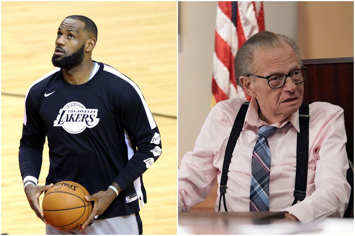 Larry King, LeBron James