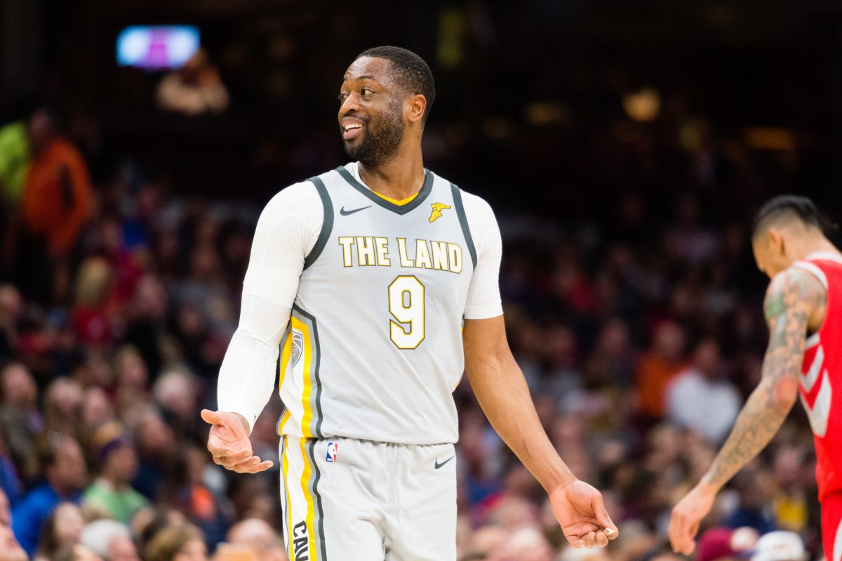 Dwyane Wade's Cavs Stint Was So Bad He's Making Fun of Himself to This Day