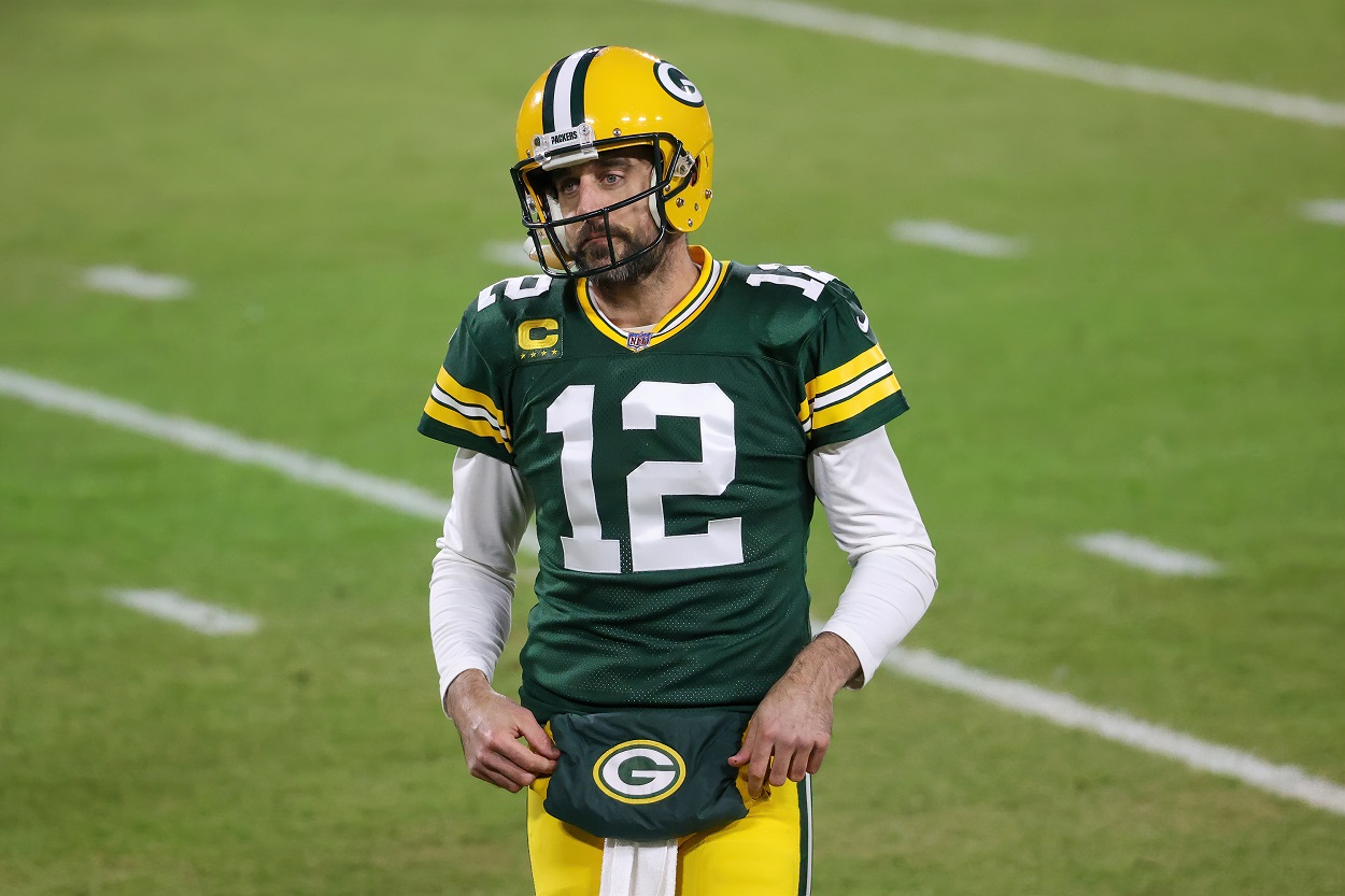 Aaron Rodgers Green Bay Packers sacrifice not too happy