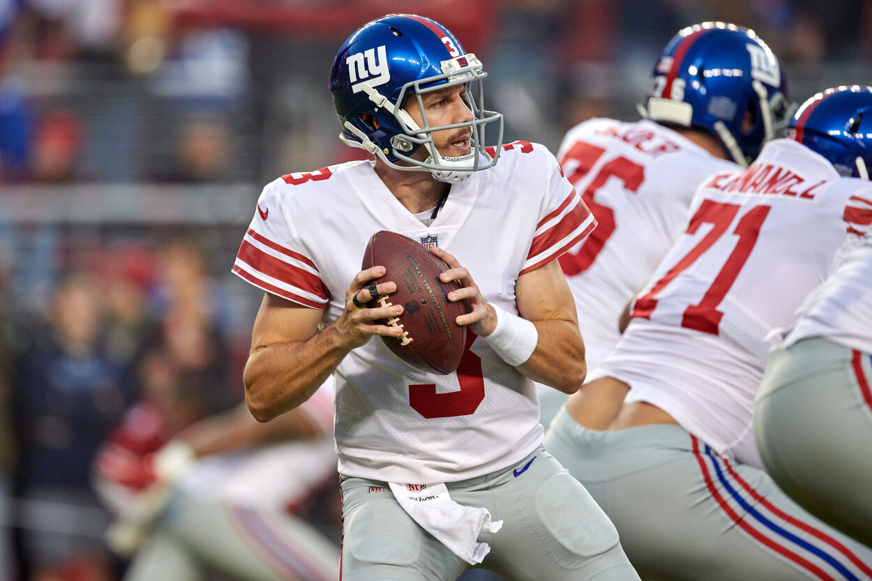 Recently-Retired Giants Quarterback Alex Tanney Made Nearly $4 Million to Throw 15 NFL Passes