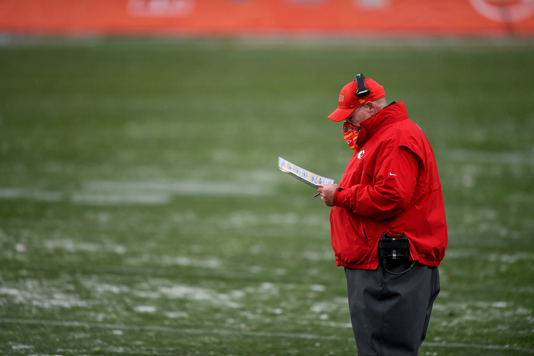 Did Kansas City Chiefs head coach Andy Reid ever play football in the NFL?