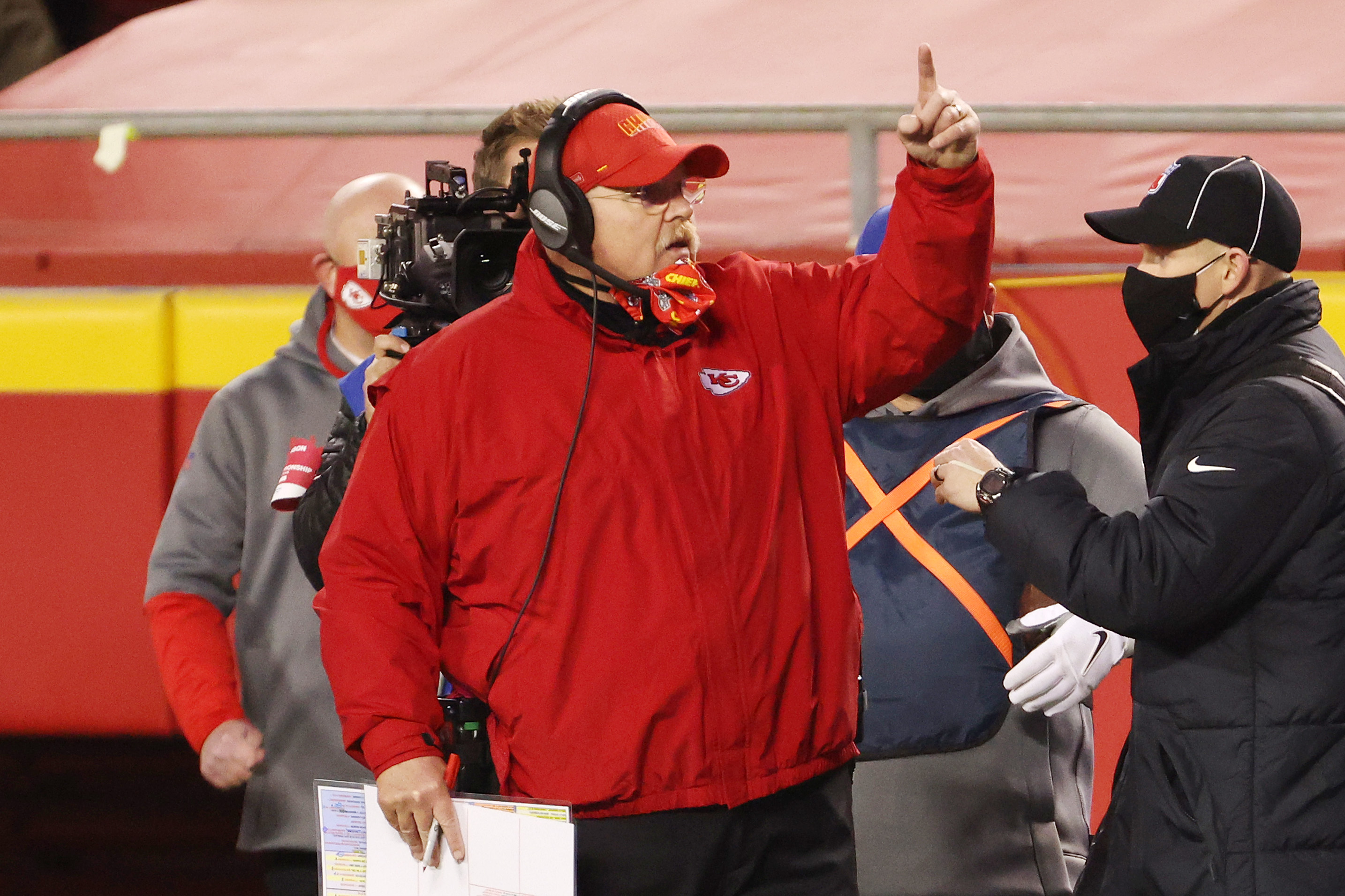 Andy Reid is seeking his second straight Super Bowl.