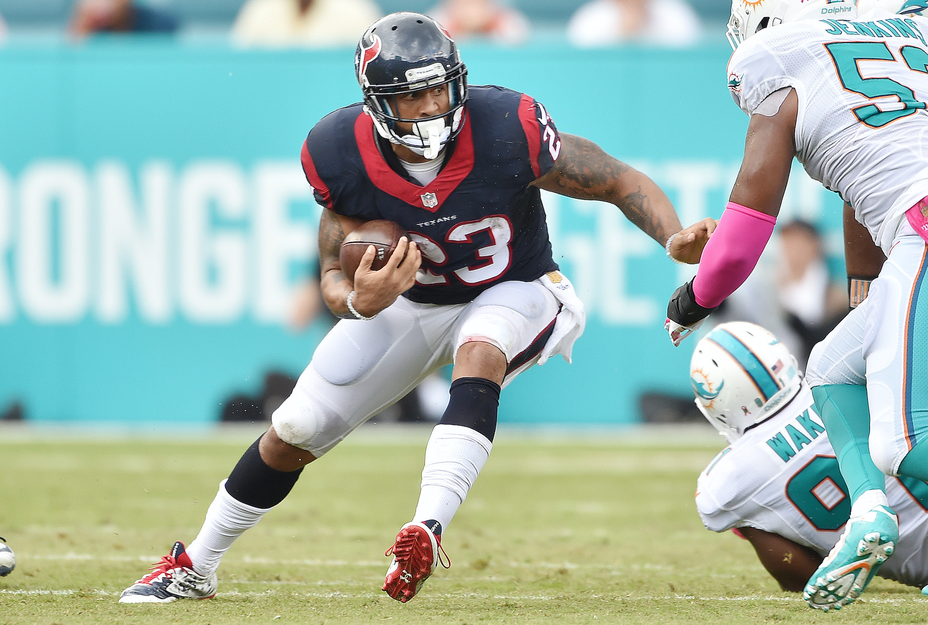 While Arian Foster has a sizable net worth thanks to his NFL career, he wouldn't play football again if he could do it all again.