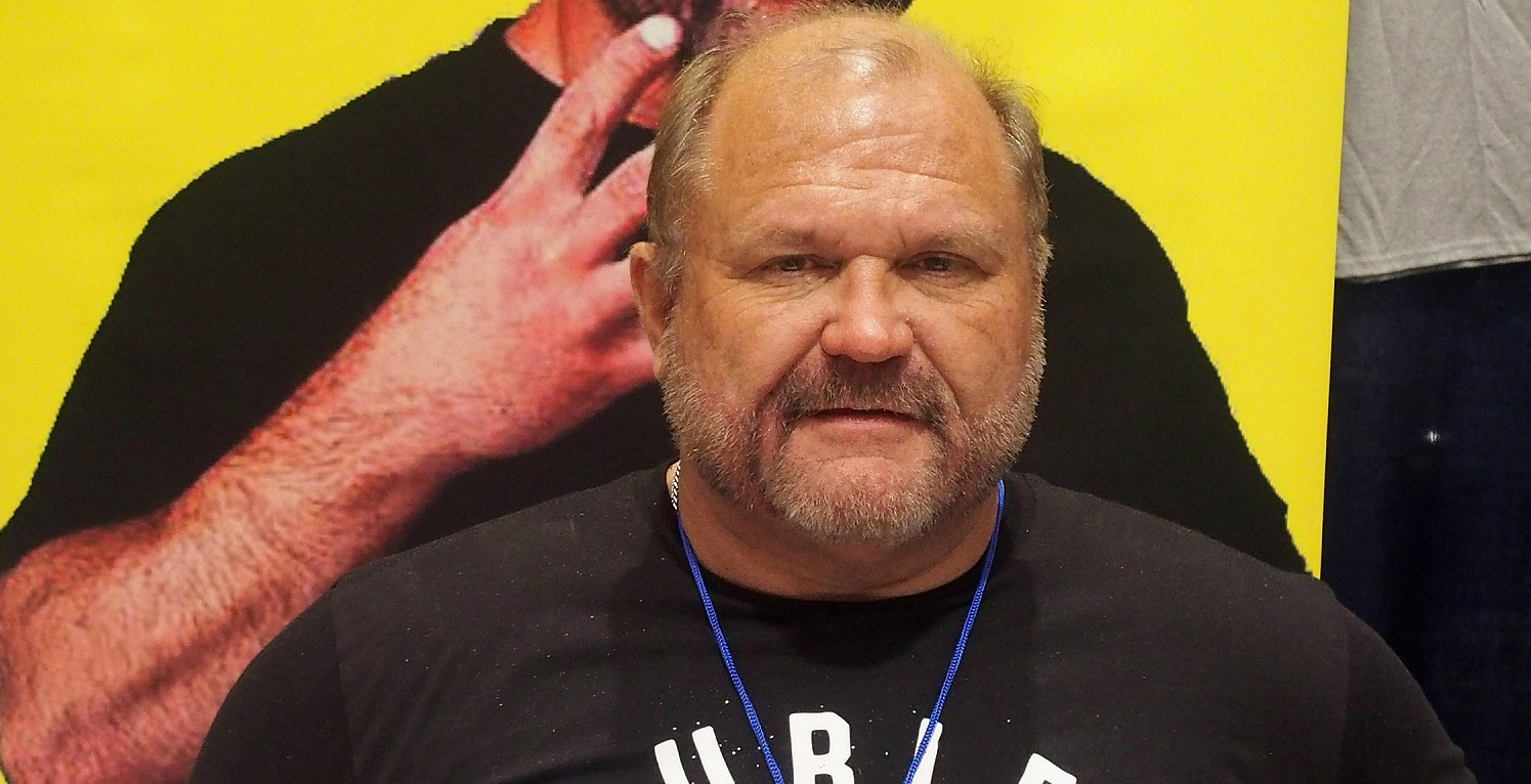 WWE Hall of Famer and current AEW star Arn Anderson