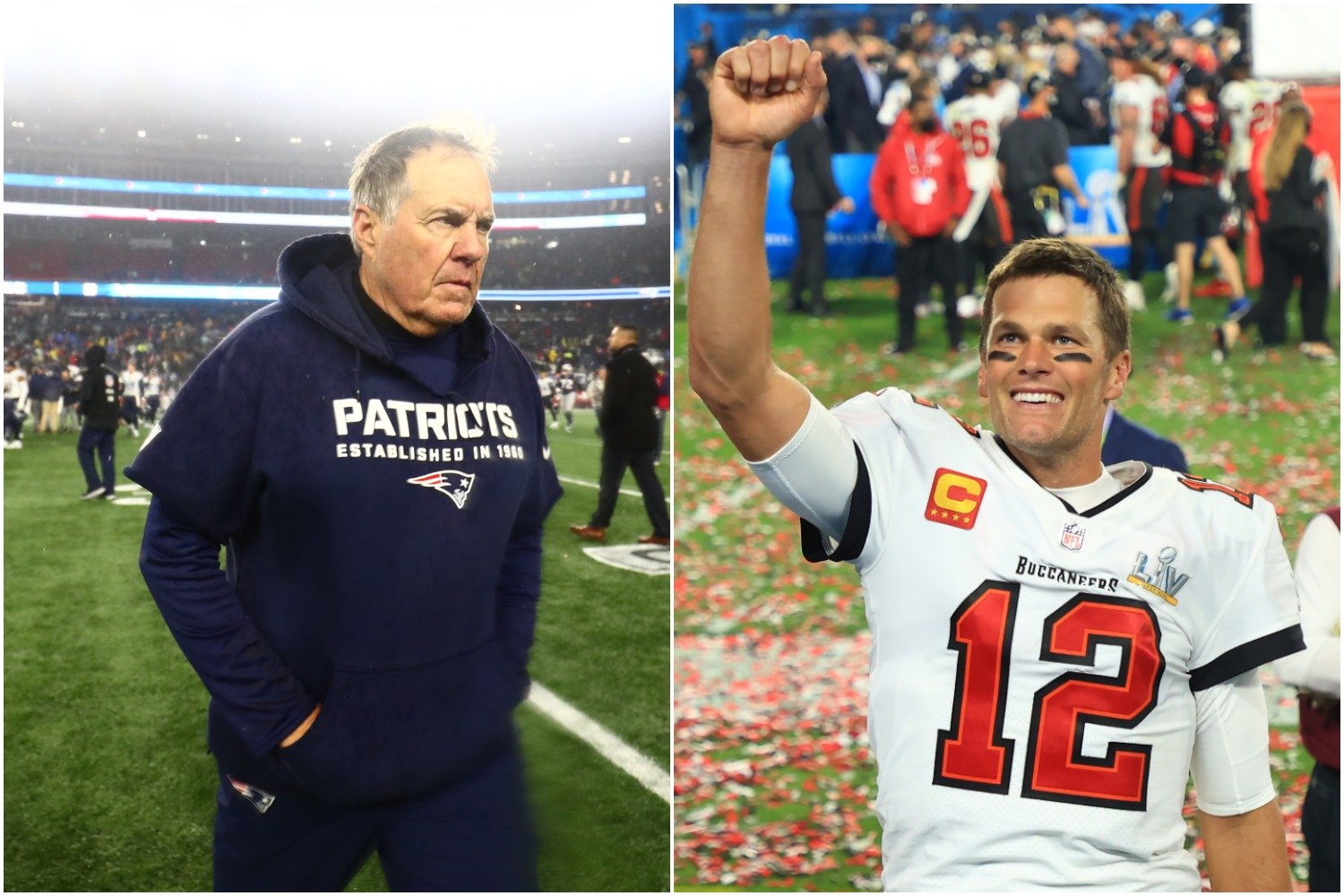 Tom Brady made Bill Belichick's worst nightmare come true by leading the Buccaneers to a lopsided win in Super Bowl 55 that also earned him a $500,000 bonus.