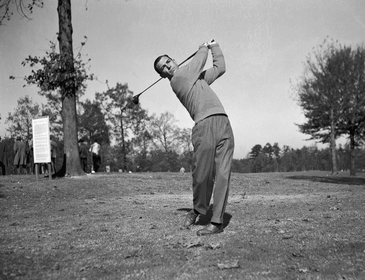 Ben Hogan at the 1950 U.S. Open