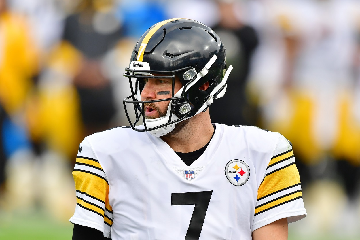 Ben Roethlisberger Pittsburgh Steelers former teammate retire