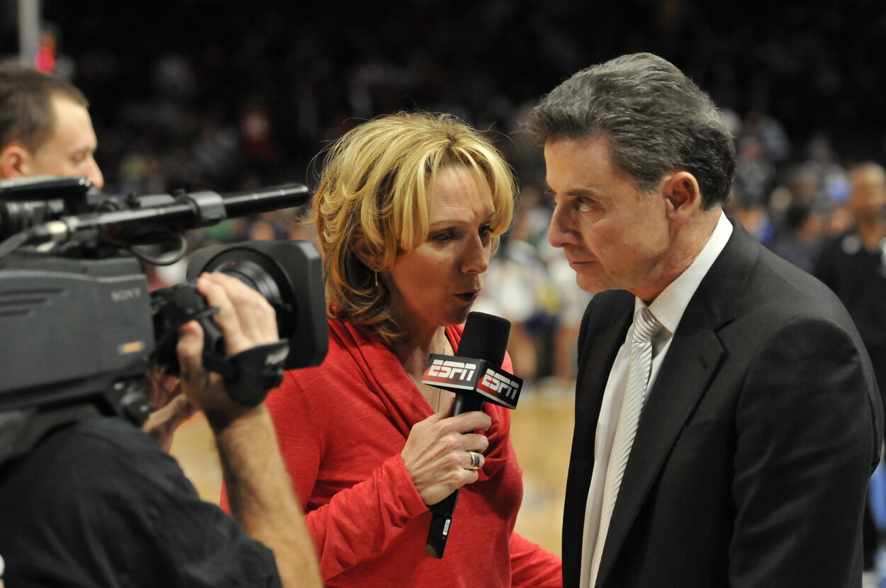 Longtime ESPN announcer Beth Mowins, seen in 2012, will work for the Chicago Cubs in 2020.