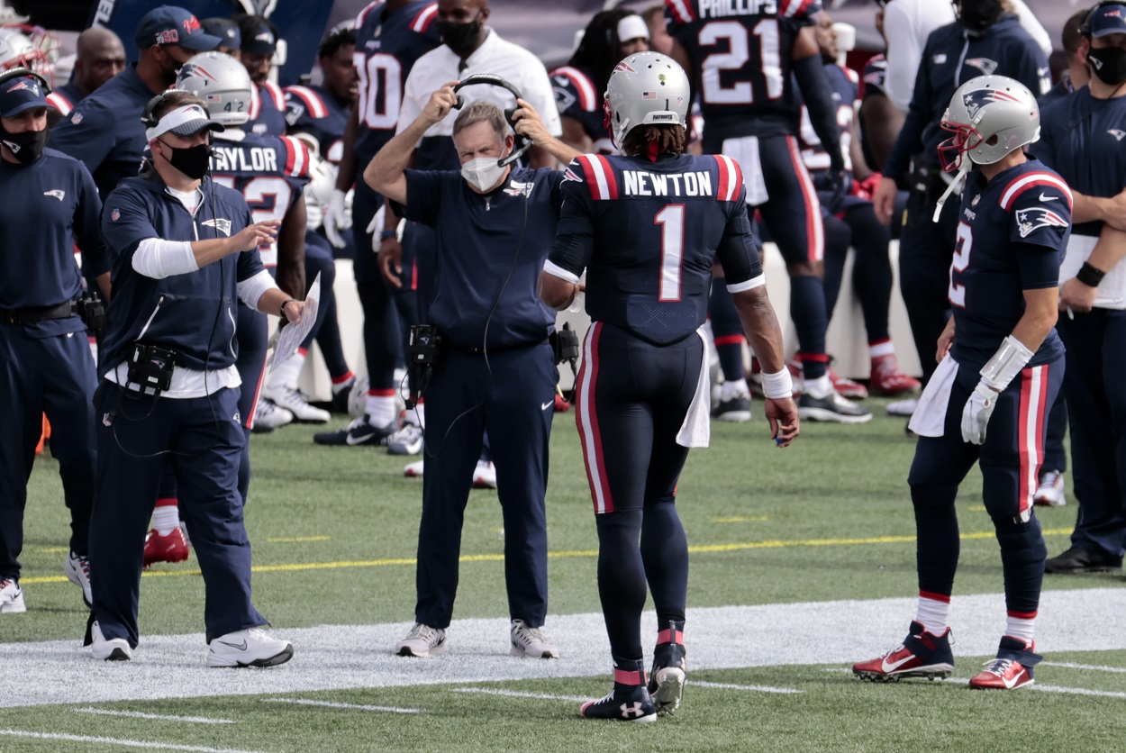 Bill Belichick Holds 1 Concern About Cam Newton That Can't Be Fixed