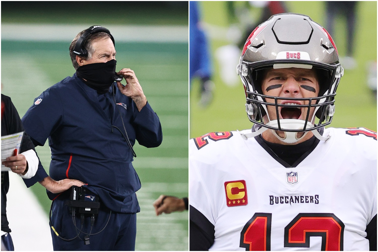 Tom Brady sent a strong message to Bill Belichick as the legendary quarterback prepares to win Super Bowl 55 with the Tampa Bay Buccaneers.