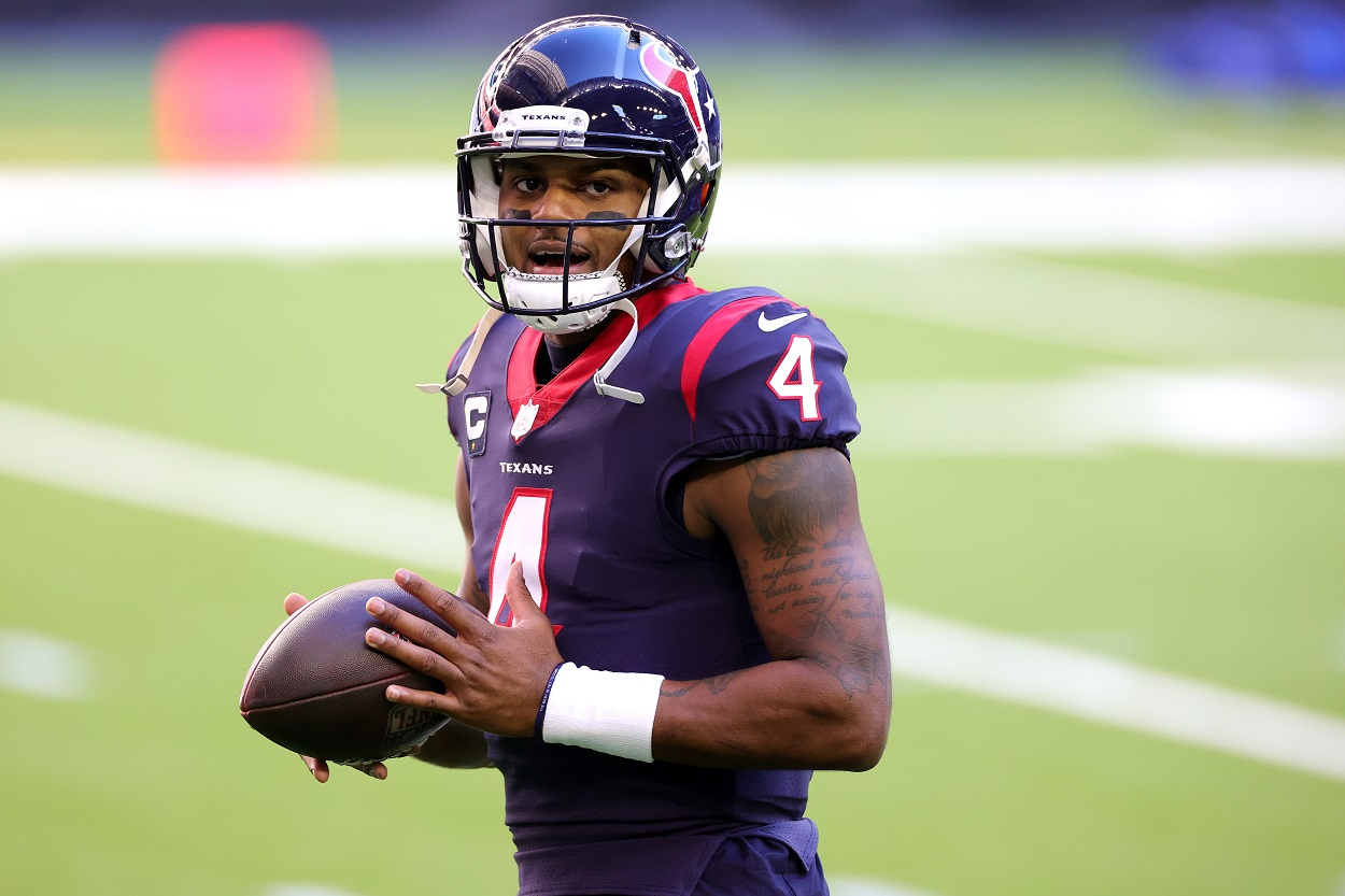 Brett Favre Offers Blunt Advice to Deshaun Watson Regarding His Trade Demand
