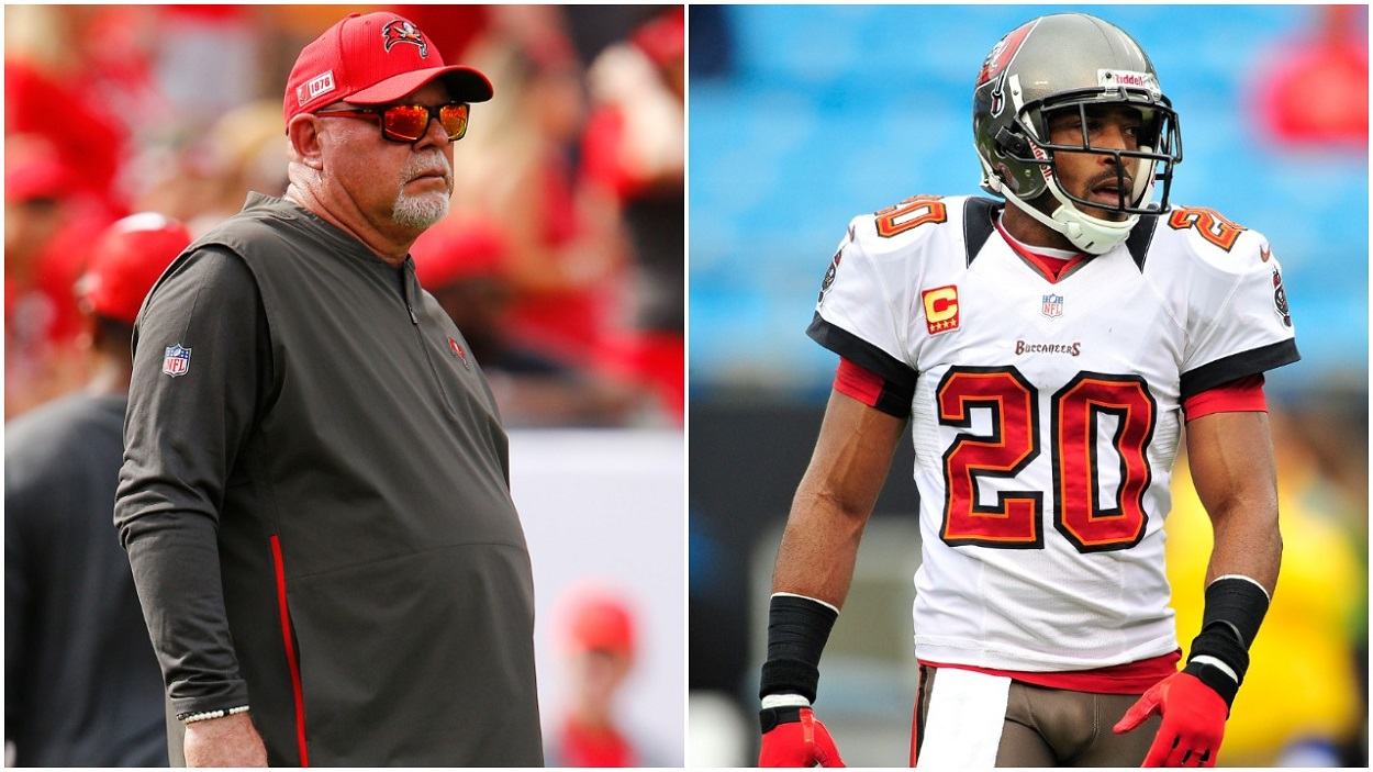 Bruce Arians Ronde Barber Tampa Bay Buccaneers
