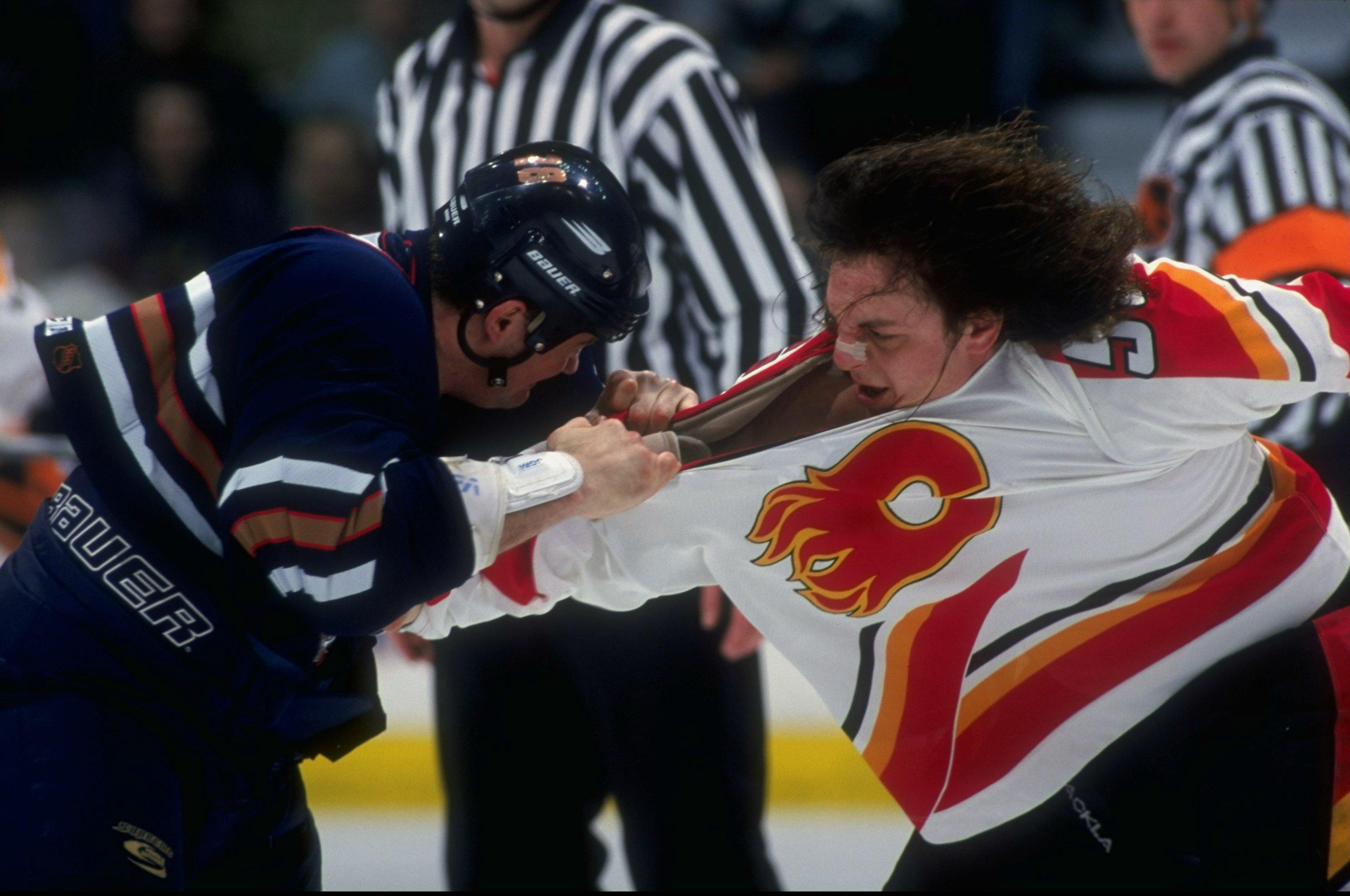 Calgary Flames vs. Edmonton Oilers in 1988