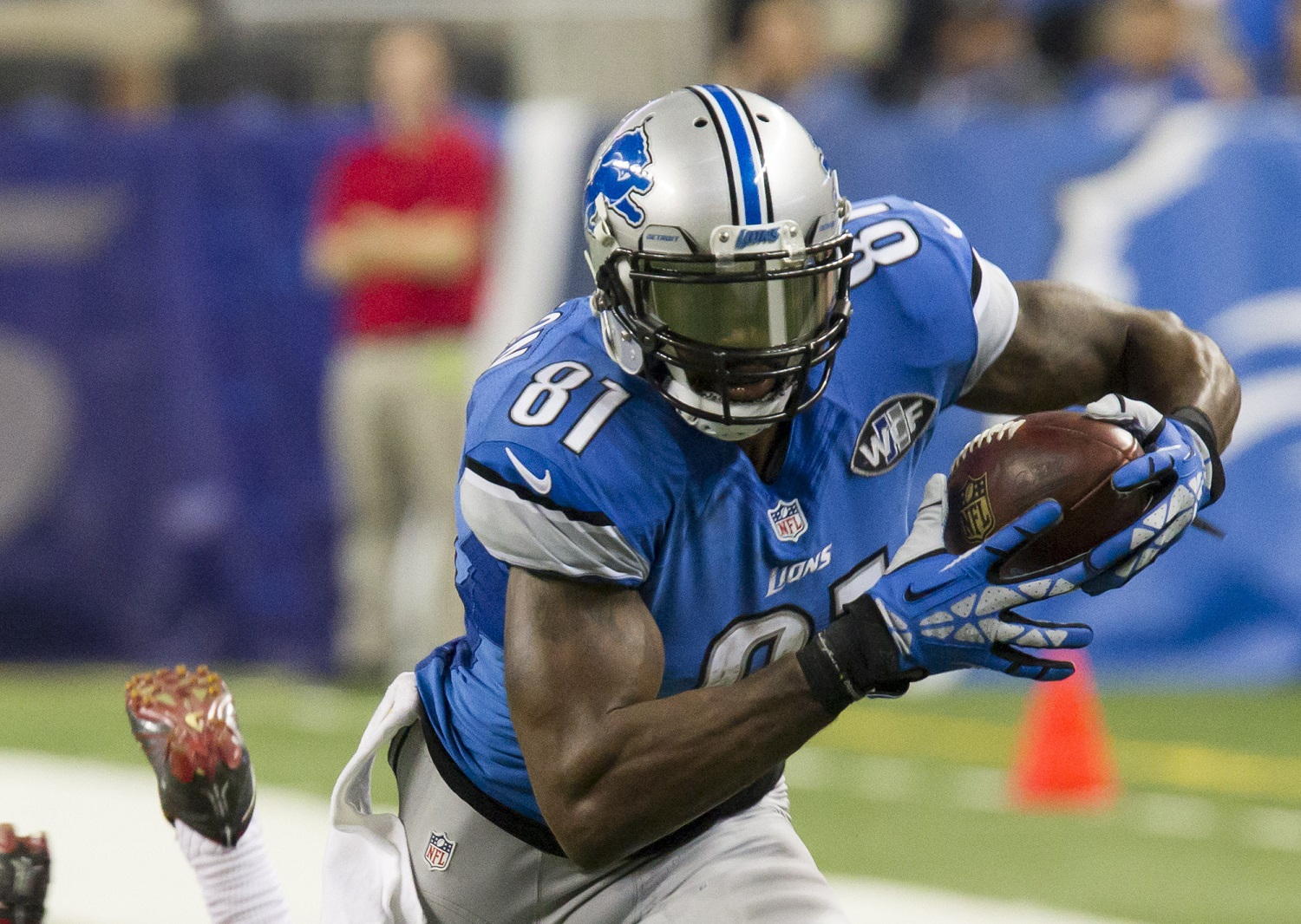 Detroit Lions Receiver Calvin Johnson's First Nickname Was a Lot Less Cool Than Megatron