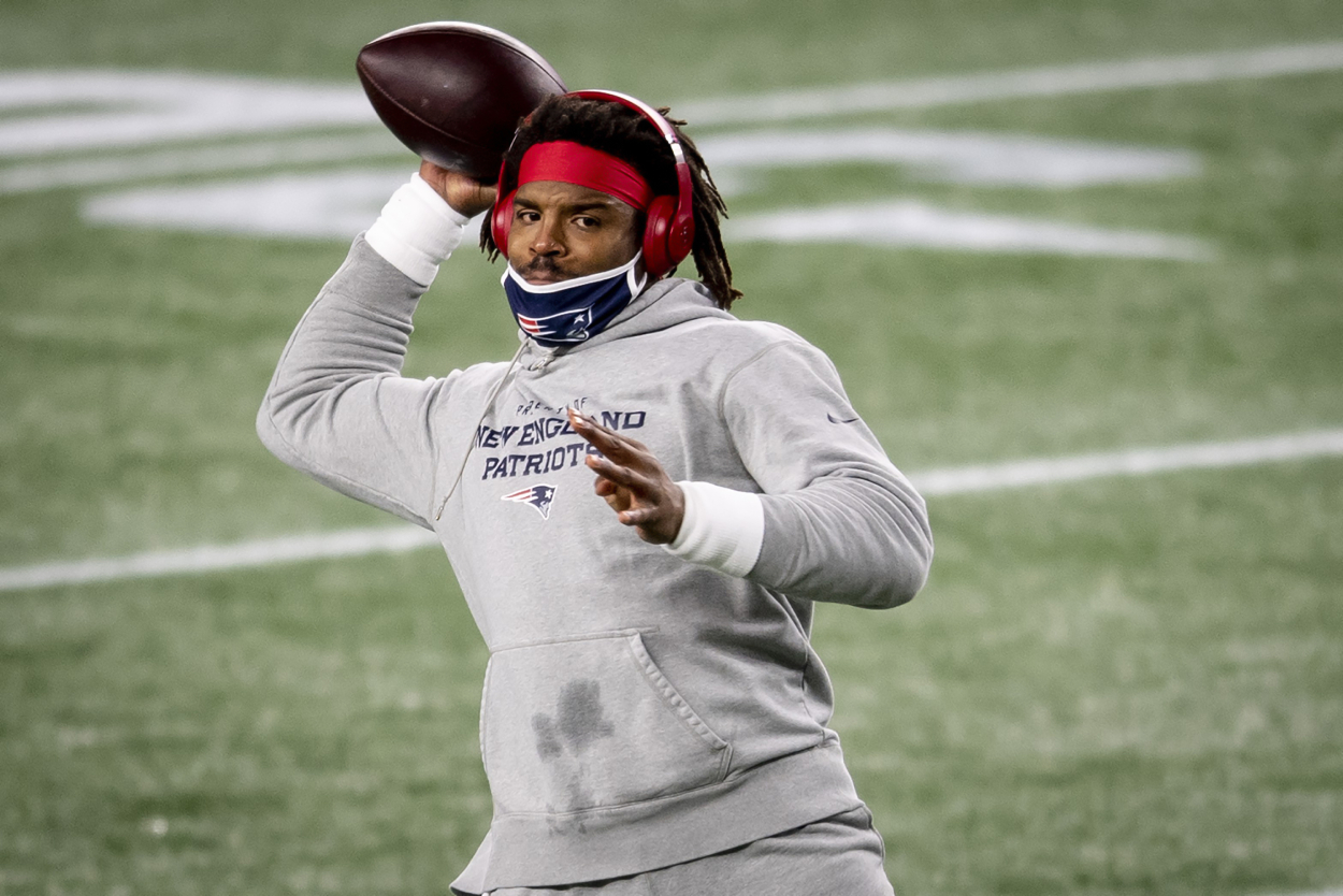 The Latest Cam Newton News Might Not Sit Well With Patriots Fans