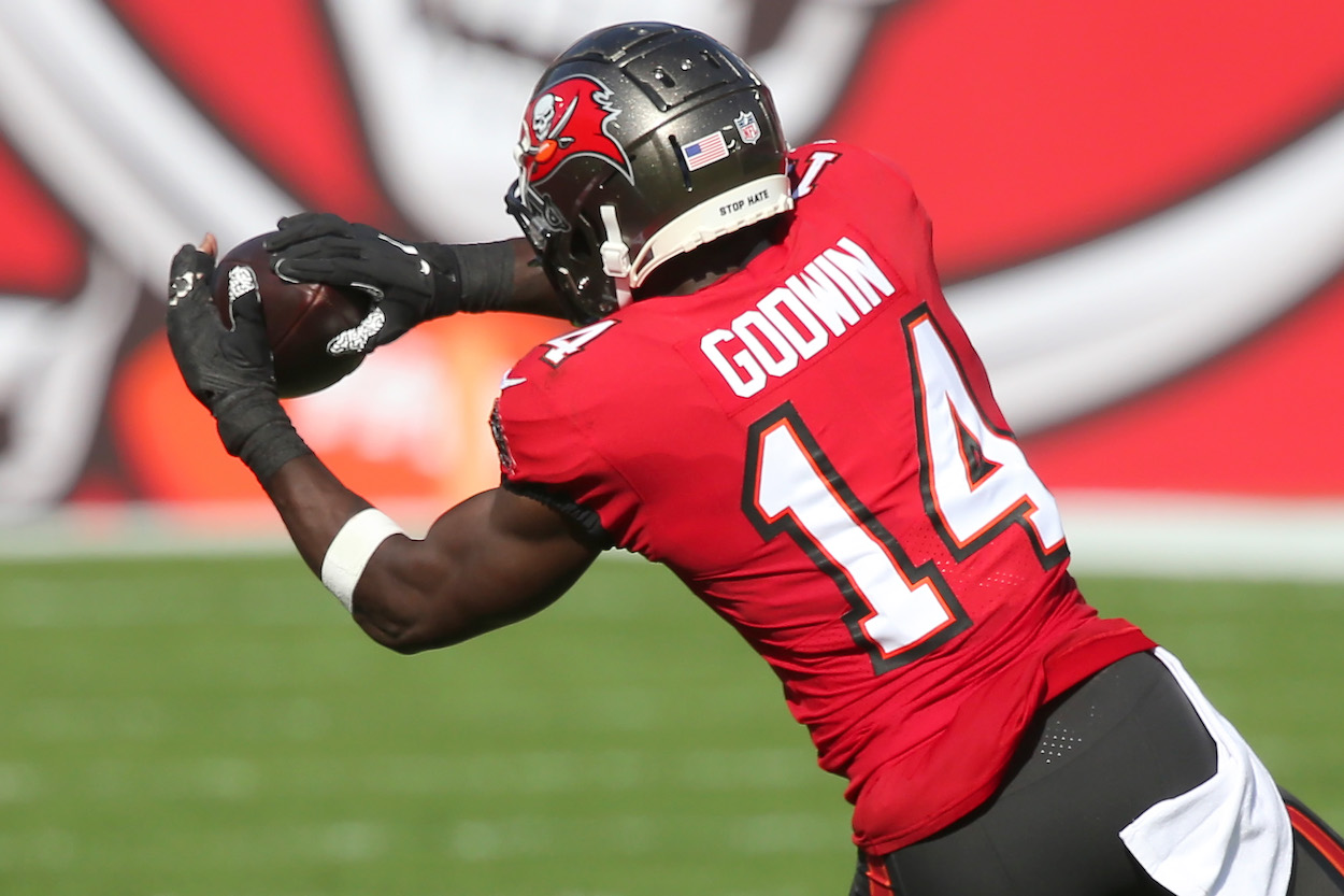Chris Godwin of the Buccaneers