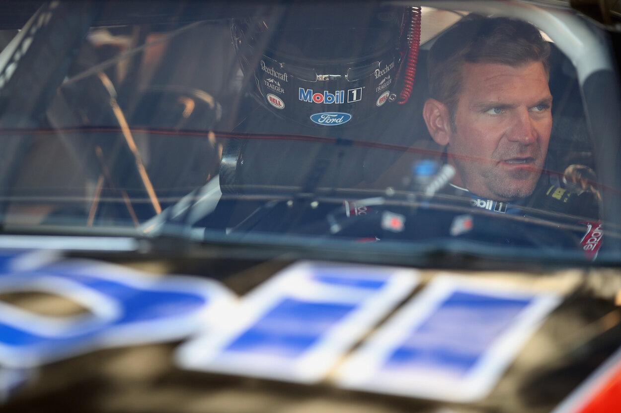 Former NASCAR driver Clint Boywer in 2020.