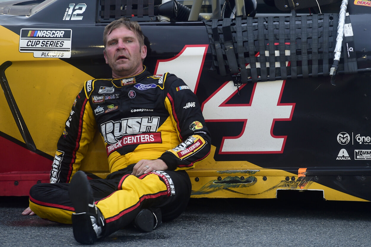 Former NASCAR driver Clint Bowyer in 2020.
