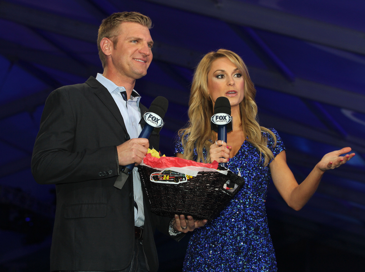 Clint Bowyer with Fox