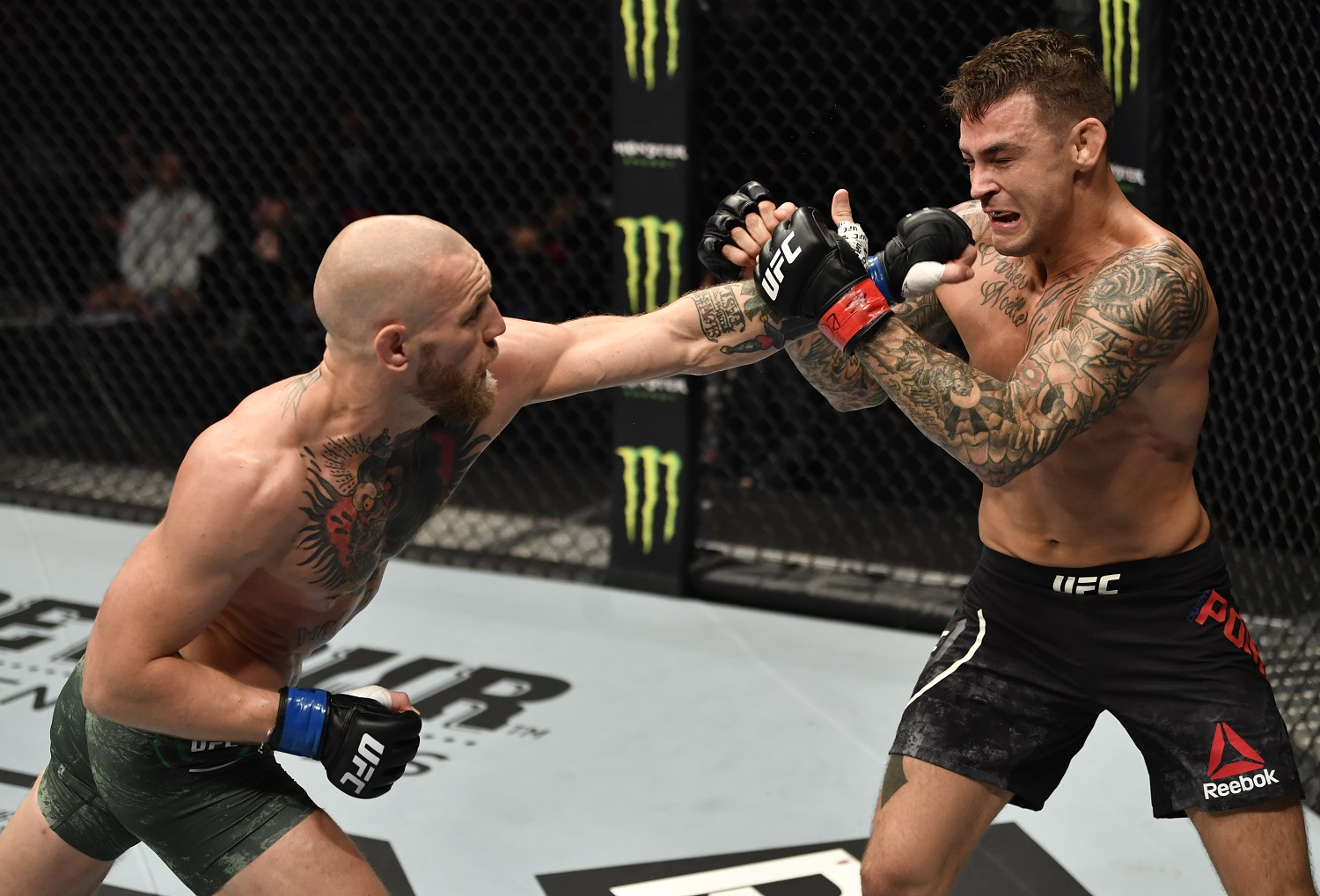 Conor McGregor and Dustin Poirier headlined UFC 257 in Abu Dhabi