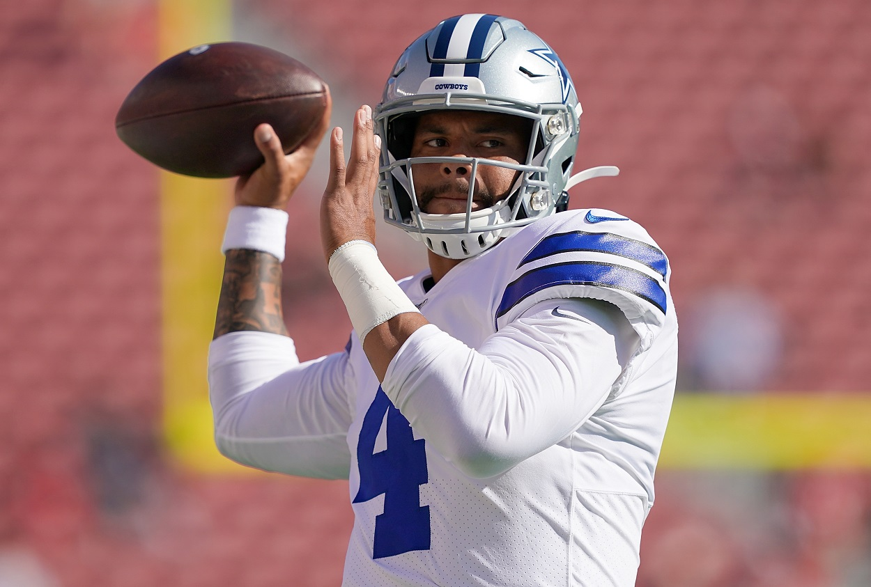 Cowboys legend warning Jerry Jones Dak Prescott