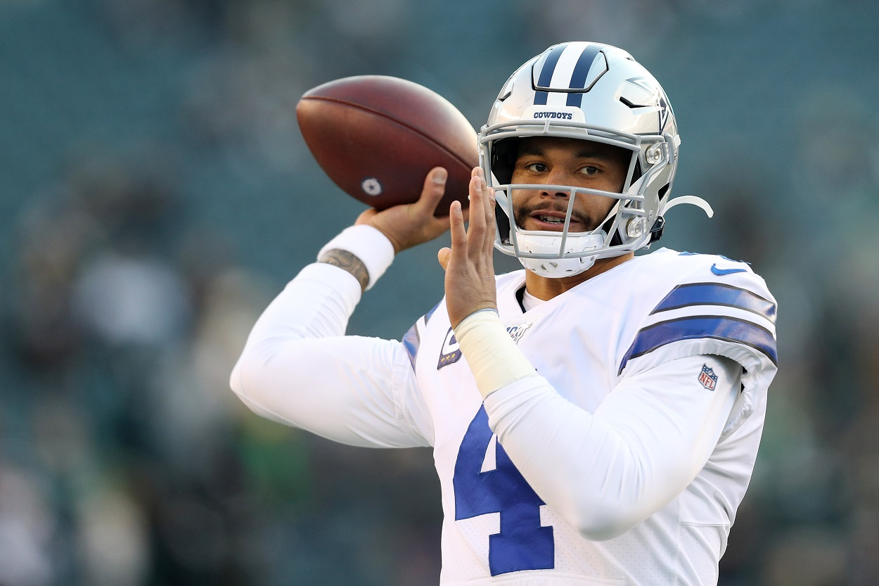 Dak Prescott Cowboys contract talks advice unlikely source