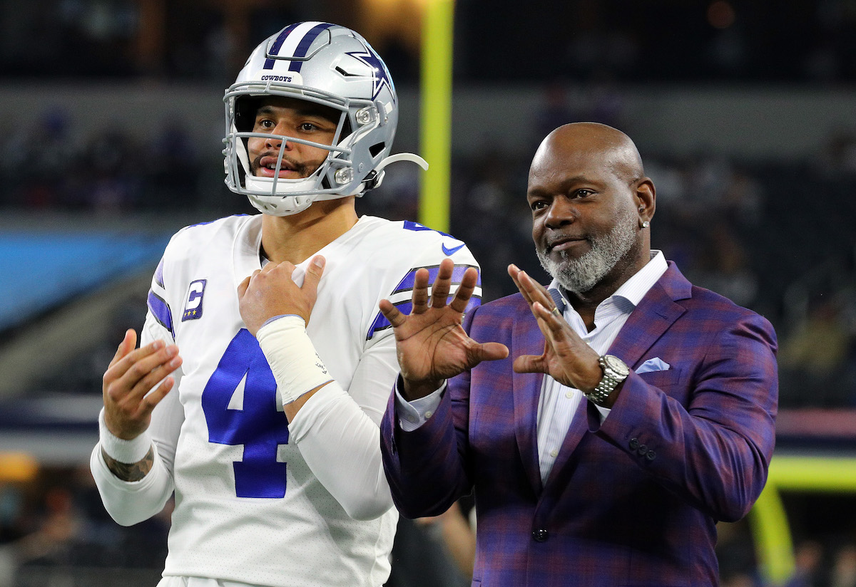 Former Dallas Cowboys legend and NFL Hall of Famer Emmitt Smith reveals some shocking information about the team's commitment to Dak Prescott.