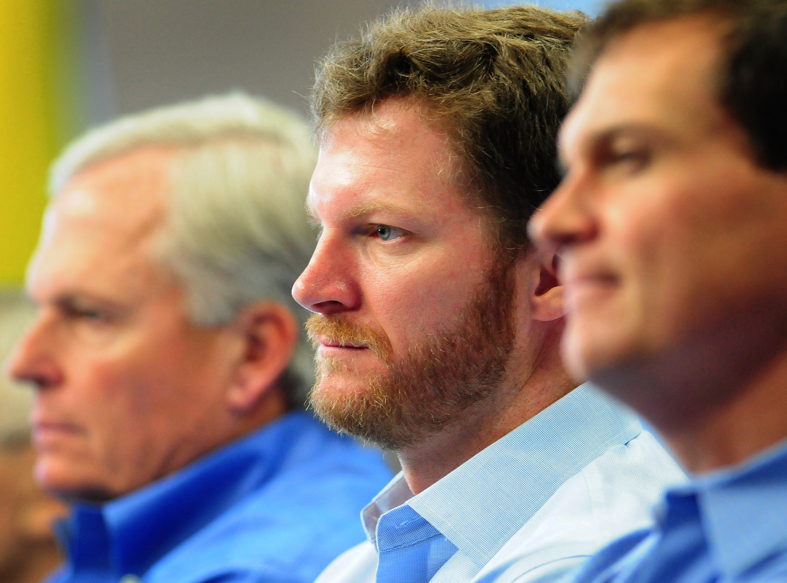 Dale Earnhardt Jr. explained what not to do when you cause a wreck.