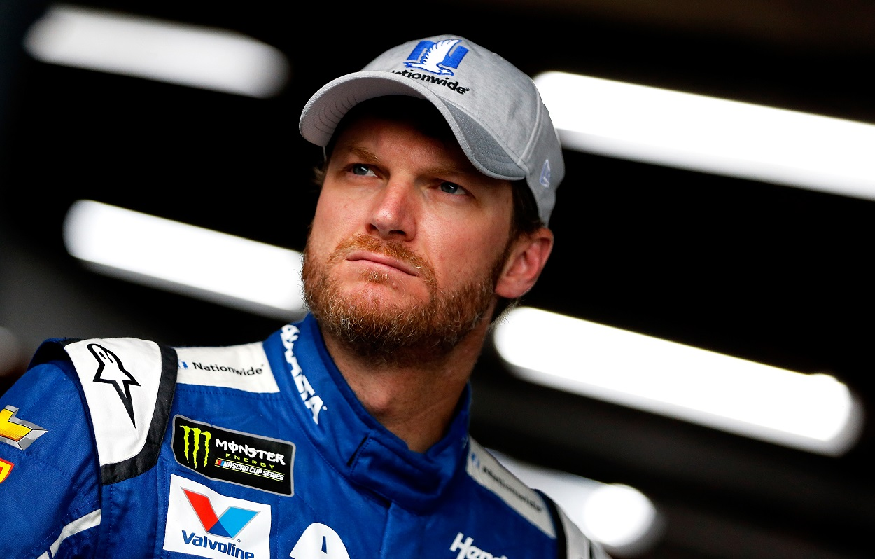 Dale Earnhardt Jr. angry Jimmy Spencer controversial comments
