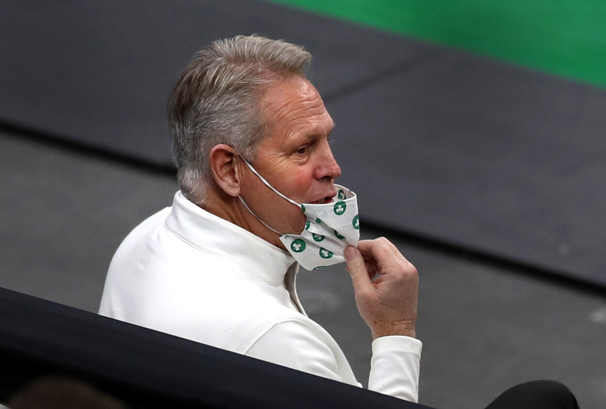A Prominent NBA Insider Accused Celtics GM Danny Ainge of Committing an Ugly Off-Court Mistake Again