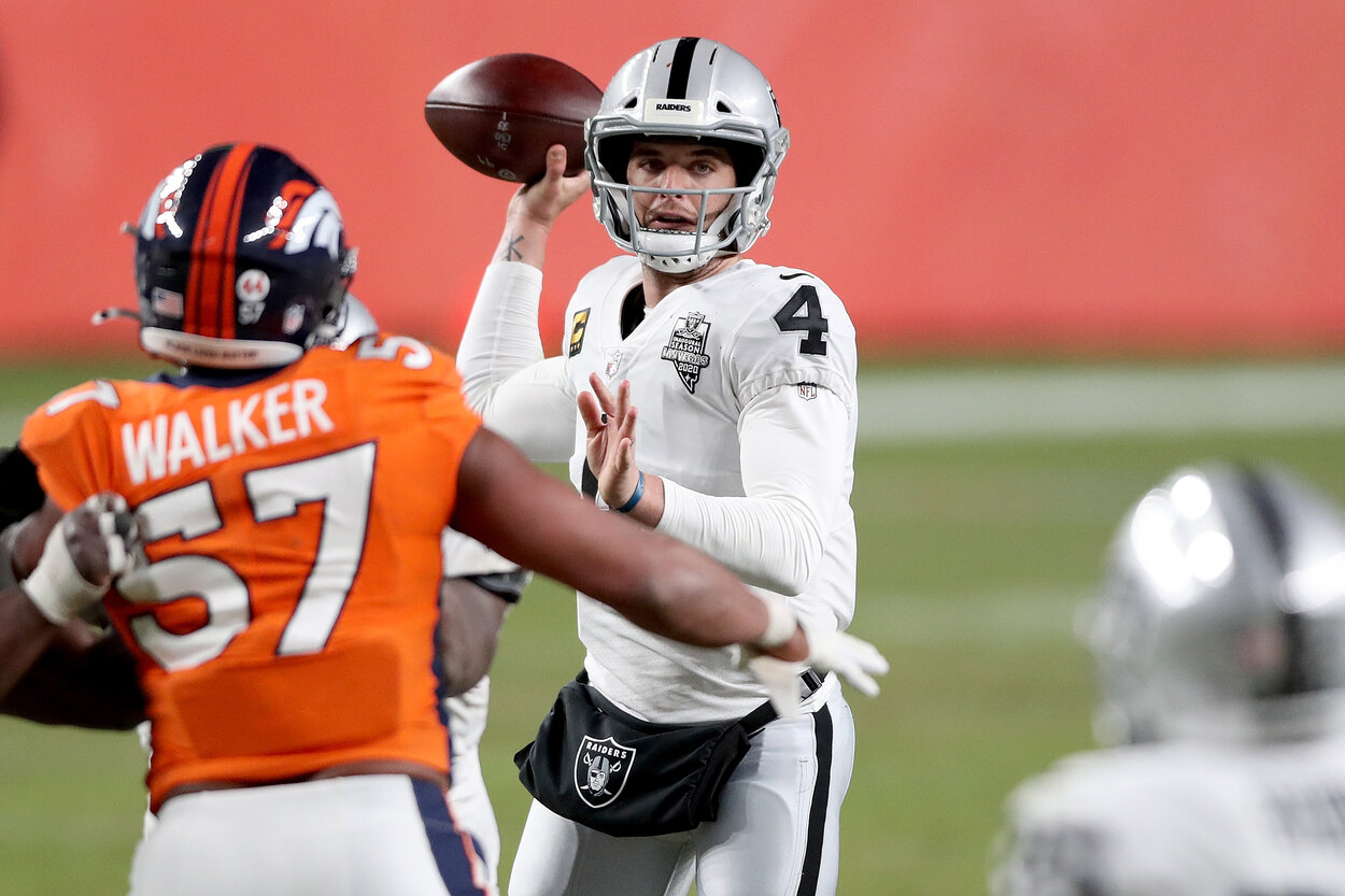 Raiders Fans Should Either Be Overjoyed or Heartbroken About the Latest Derek Carr News
