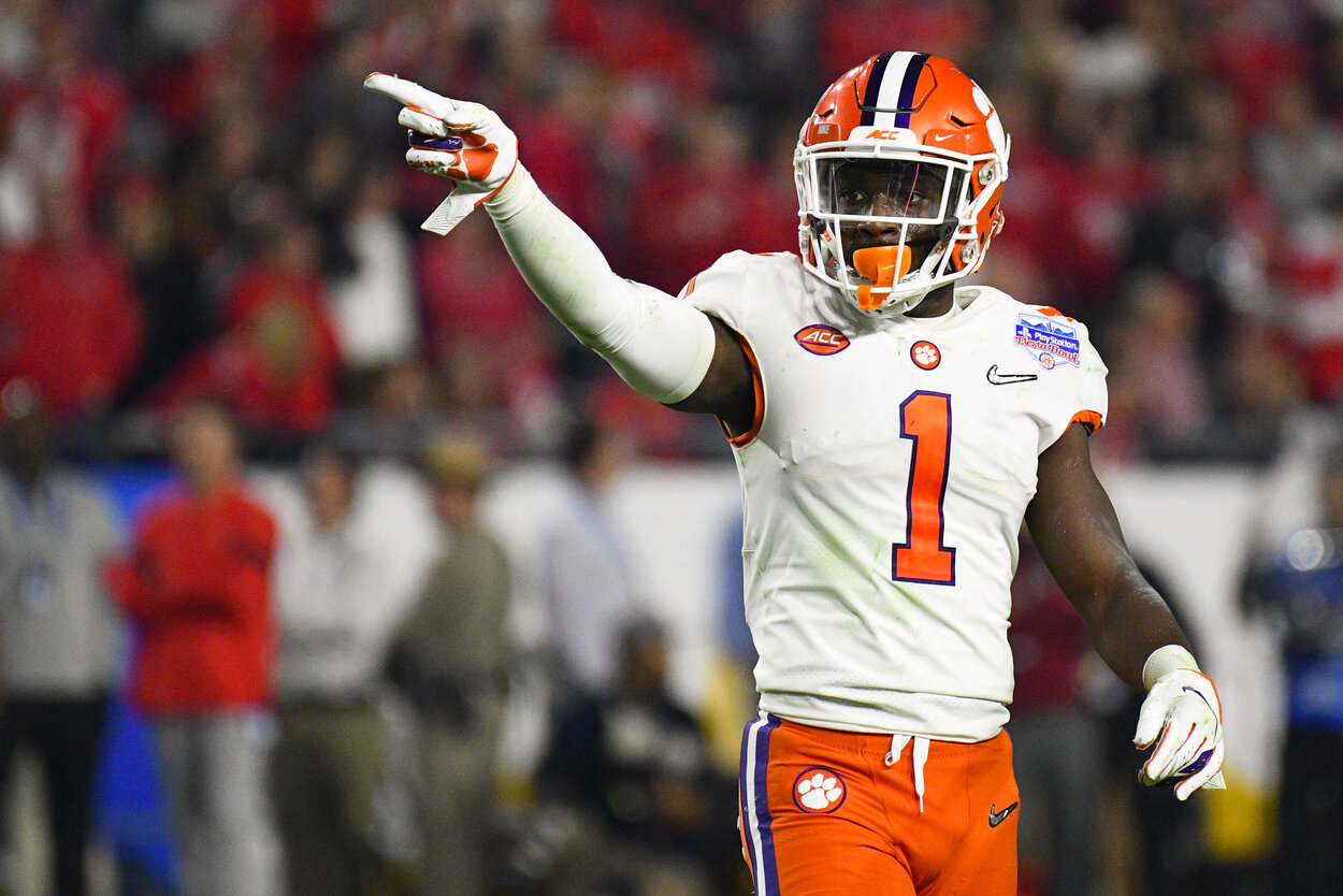 Derion Kendrick is no longer with Dabo Swinney and the Clemson Tigers.