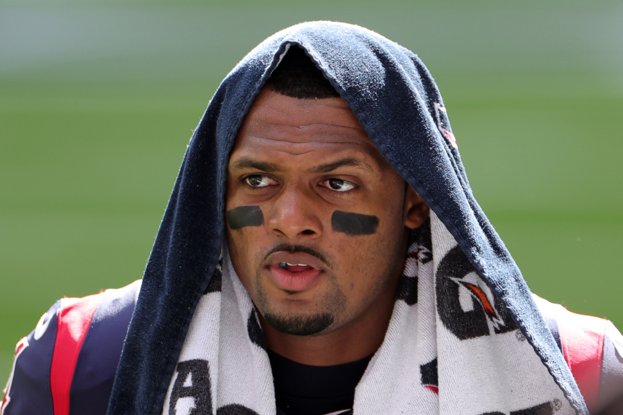 Texans quarterback Deshaun Watson before a game against the Bengals.