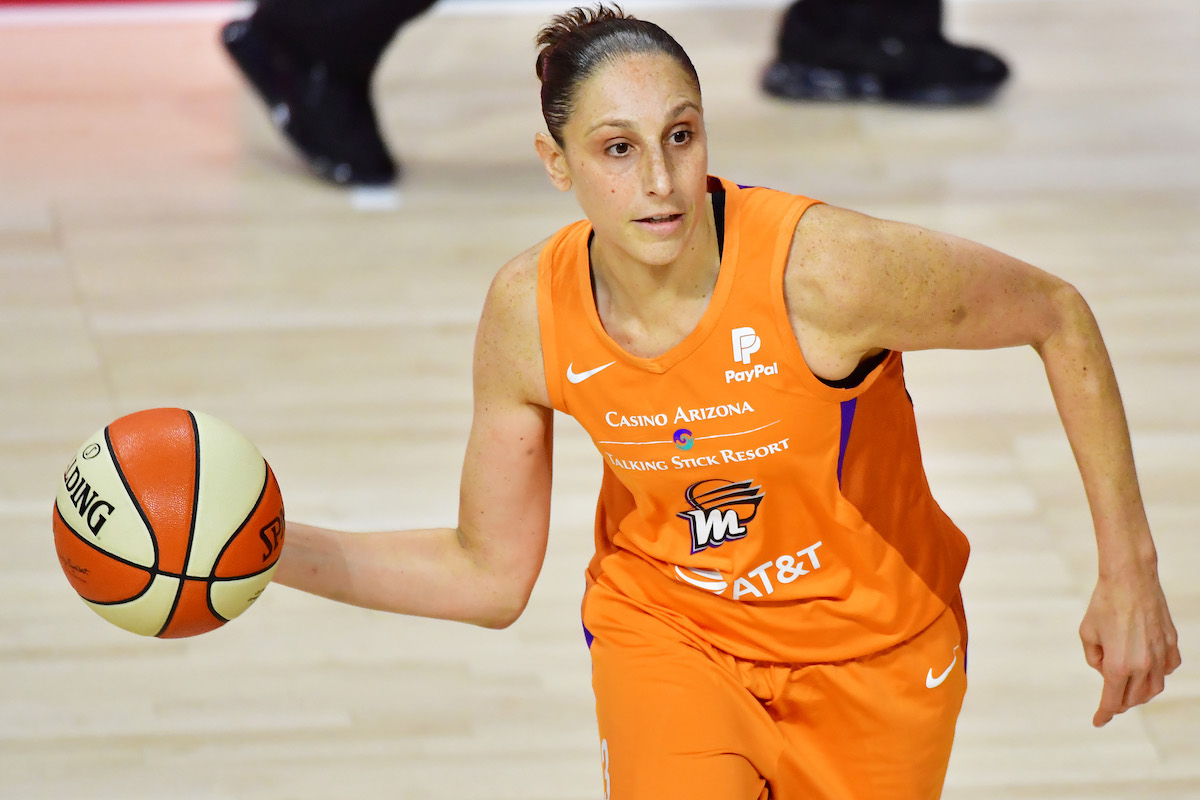 Diana Taurasi and the Phoenix Mercury have been with each for 16 seasons, and plan to keep it going for a little longer.