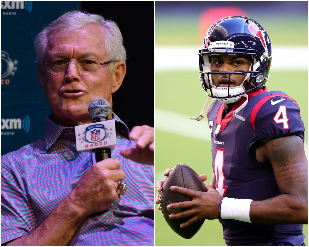 Dick Vermeil Rips Deshaun Watson for His Trade Demands and Stephen A. Smith Responds