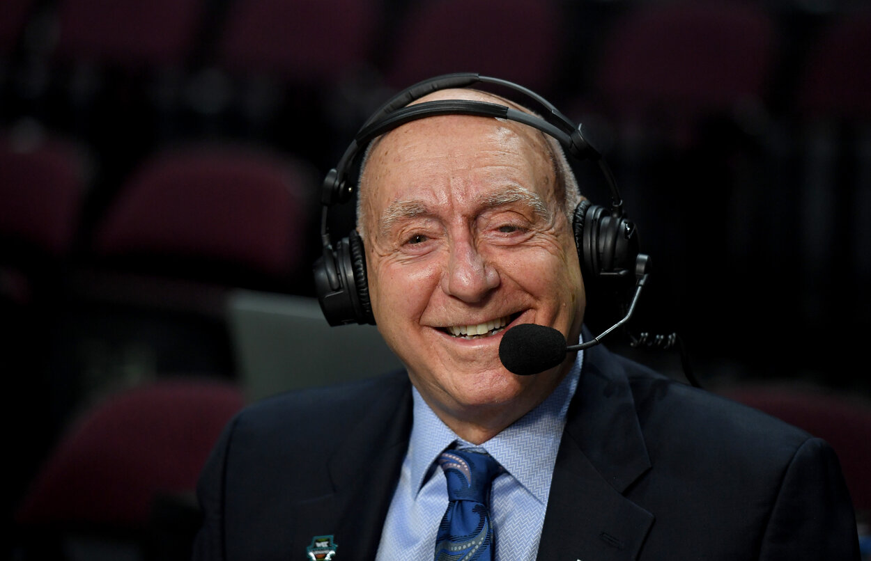 ESPN announcer Dick Vitale in 2020.