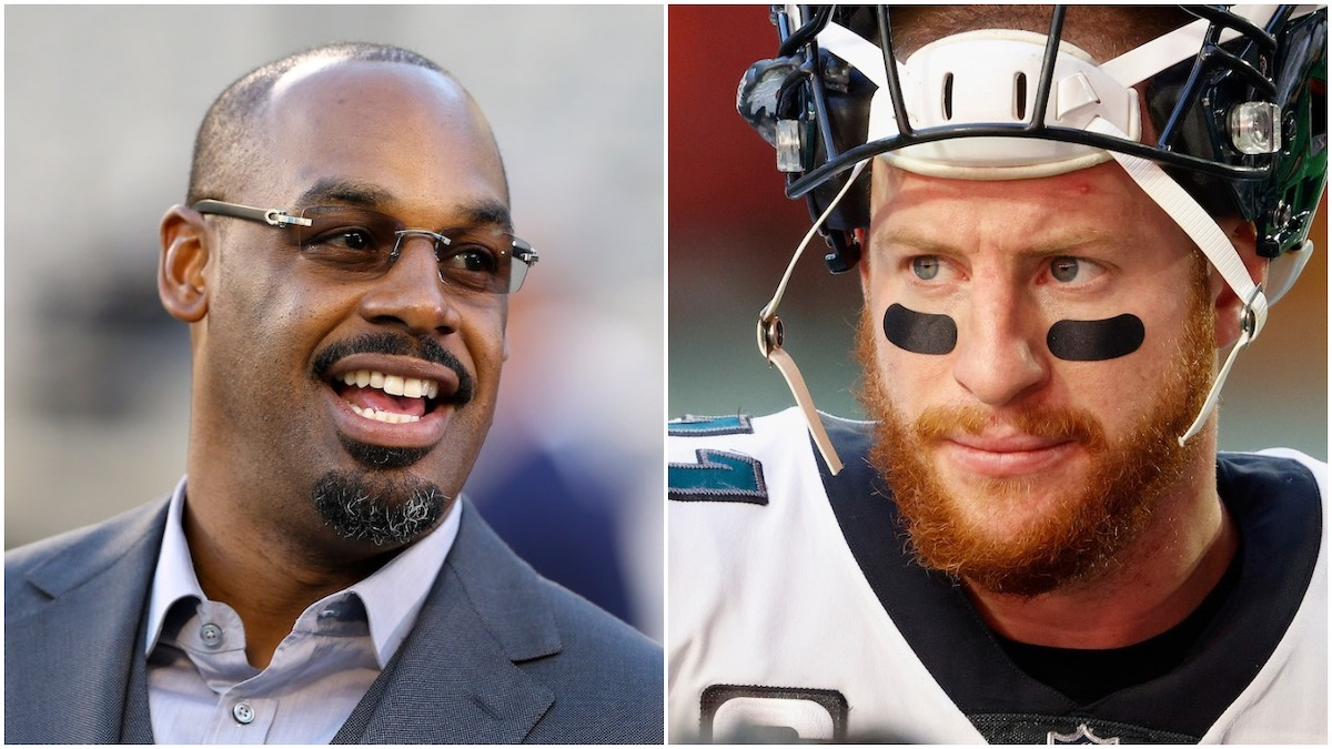 The Philadelphia Eagles haven't decided Carson Wentz's future with the team, but Eagles legend Donovan McNabb knows what Philly should do.
