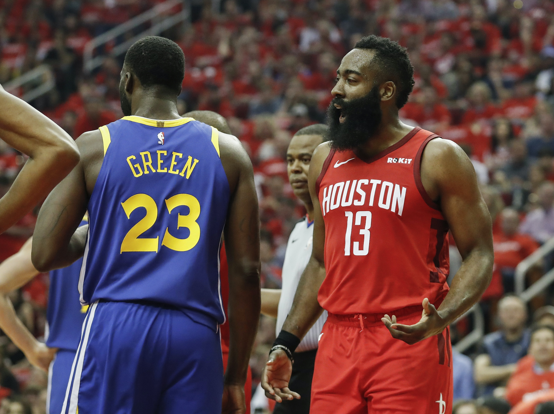 James Harden's reputation just suffered another serious blow, thanks to Draymond Green.