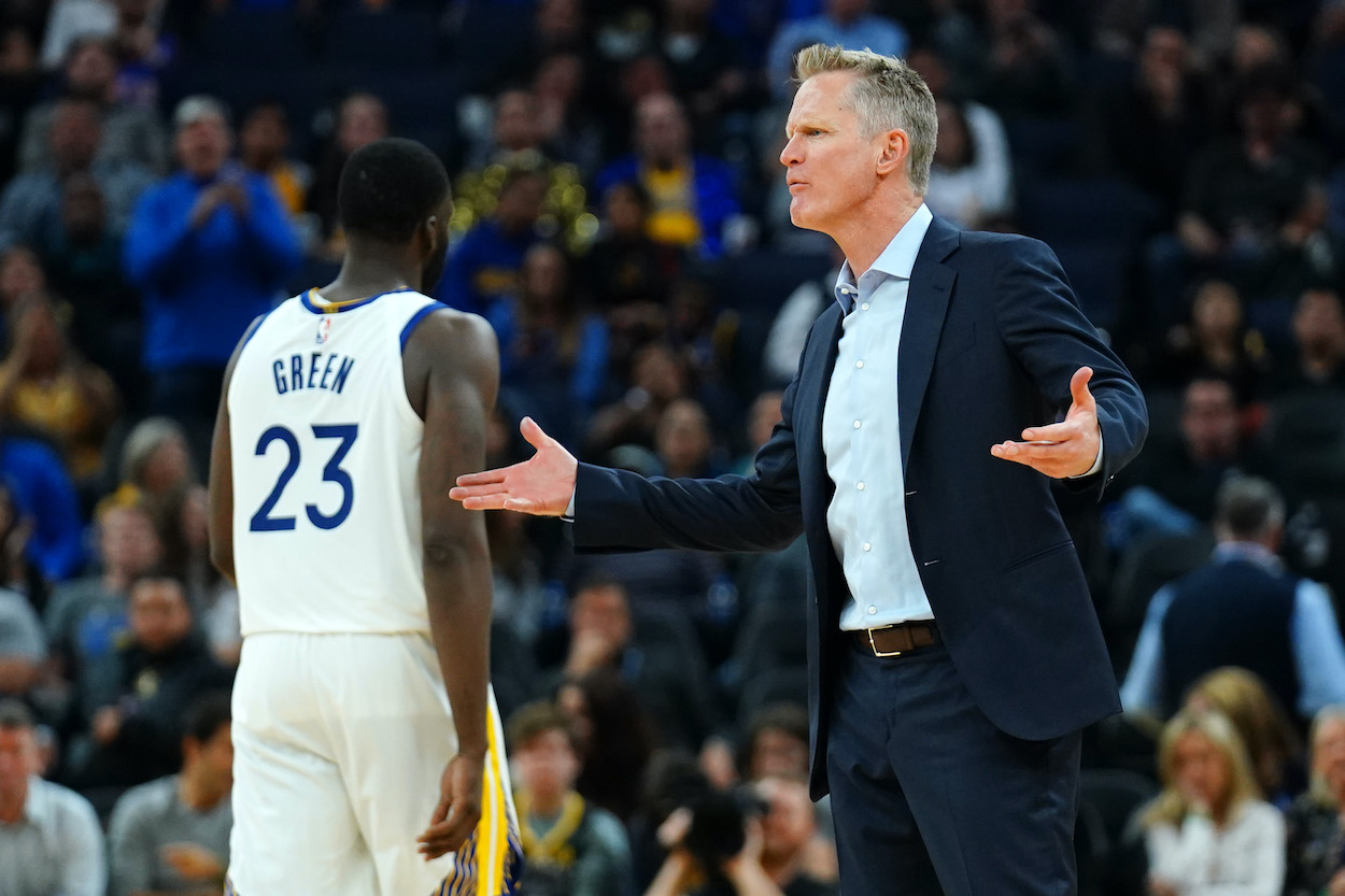 Steve Kerr Takes a Friendly-Fire Shot at Draymond Green After Latest Warriors Loss: 'He Crossed the Line'