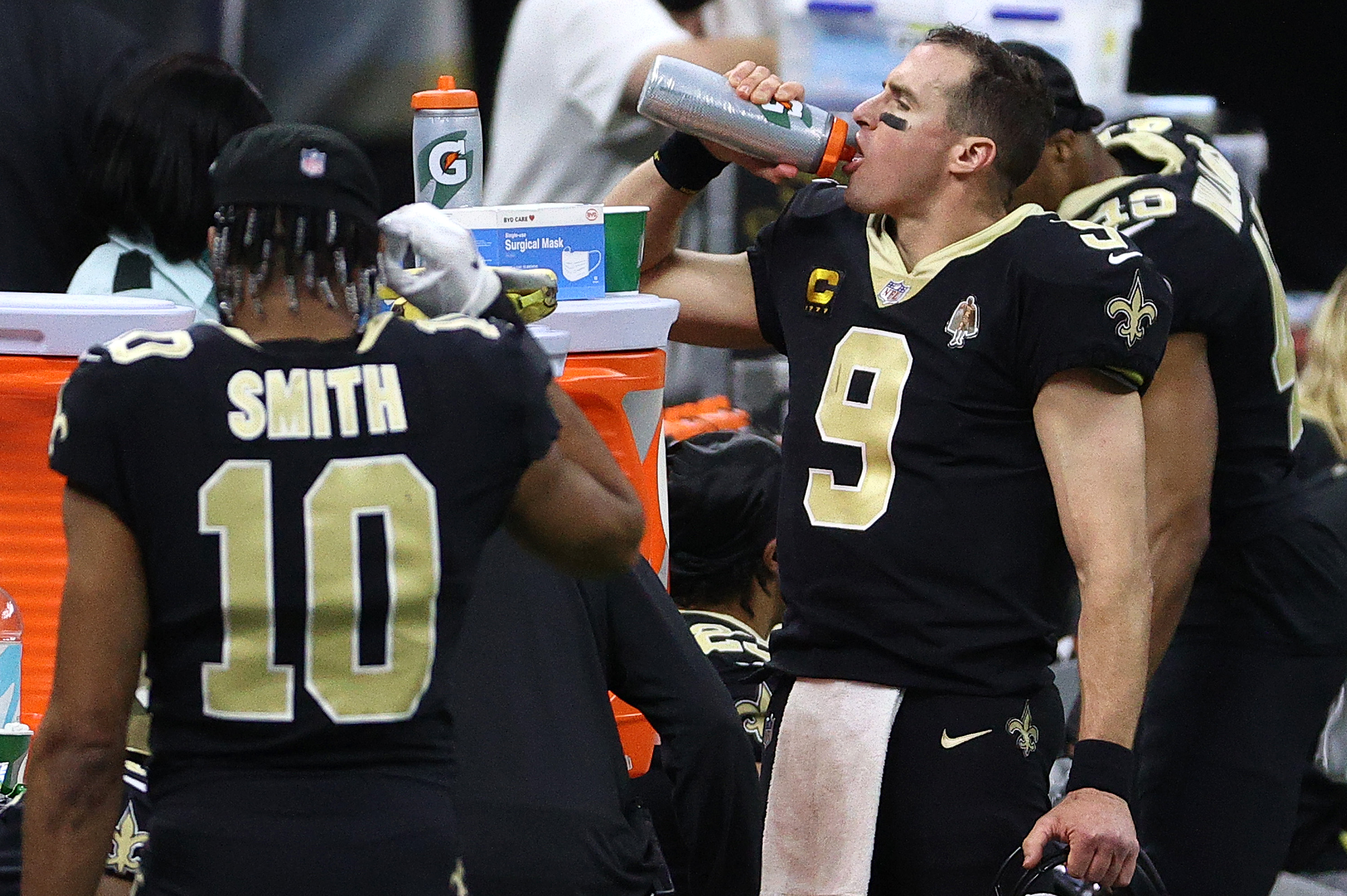 Is Drew Brees Sending a Message? 'Something Must Be Brewing'