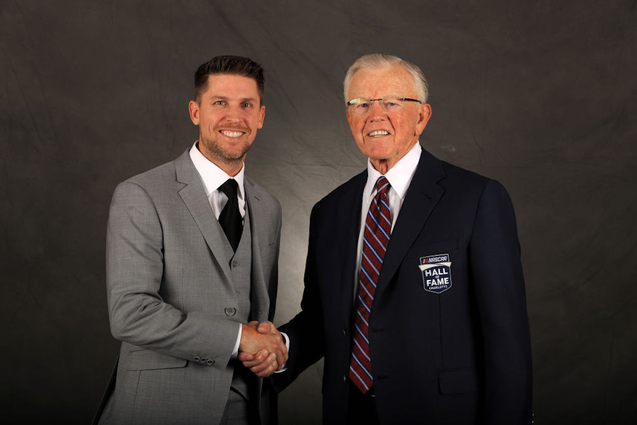 Denny Hamlin has been with Joe Gibbs Racing for 16 years, and the two sides just agreed to a multi-year extension.