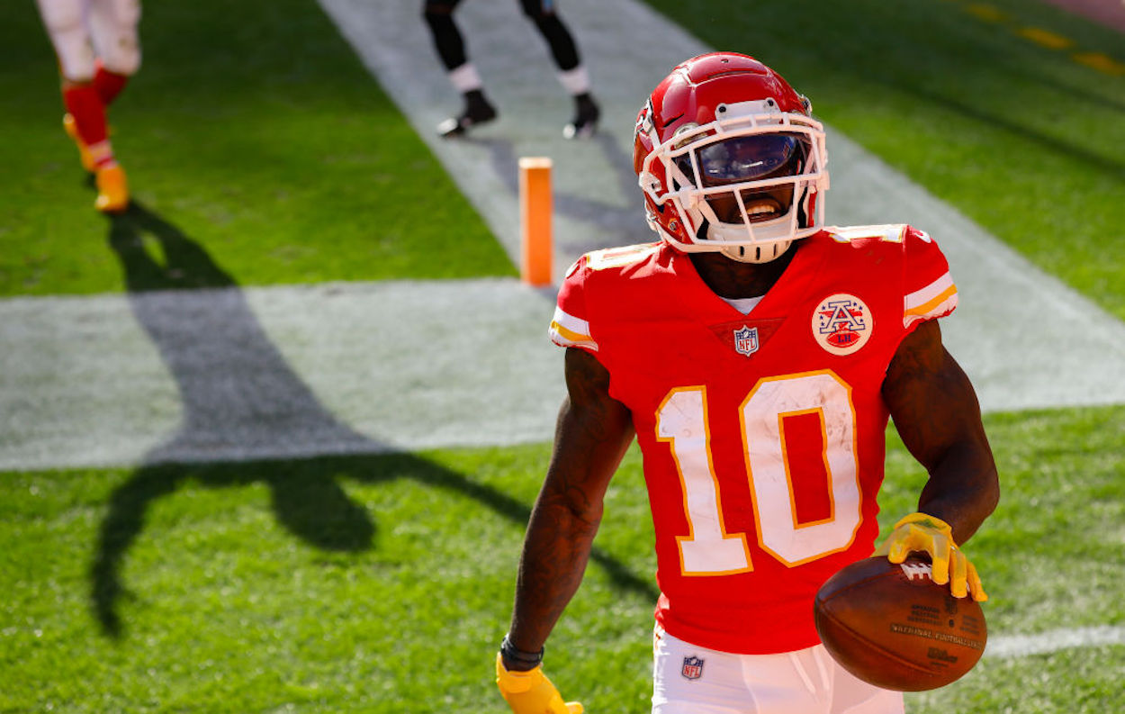 Where Did Tyreek Hill Go to College?