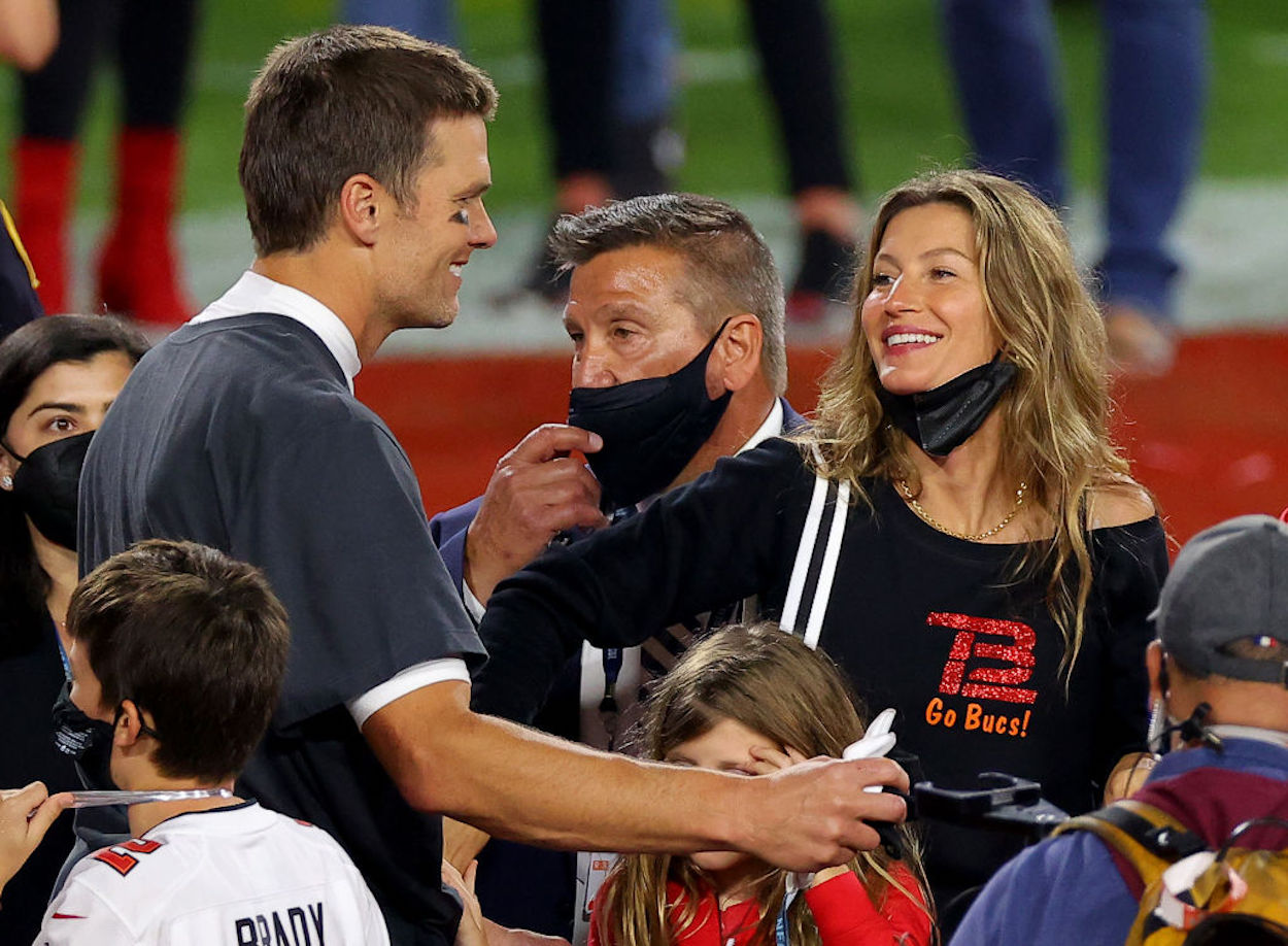 Tom Brady's wife, Gisele Bündchen, has a hilarious way of making fun of him behind his back by speaking a different language around the house.