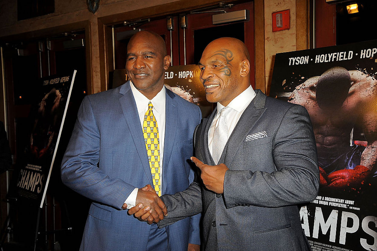 Mike Tyson and Evander Holyfield Are Making Boxing Fans' Dreams Come True With a $200 Million Trilogy Fight
