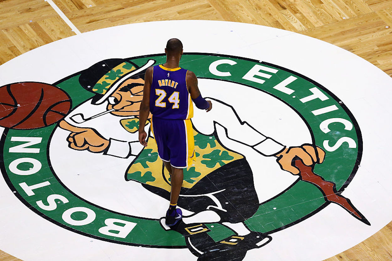 Kobe Bryant is considered one of the greatest Lakers of all time, but he was nearly drafted by the Boston Celtics in 1996.